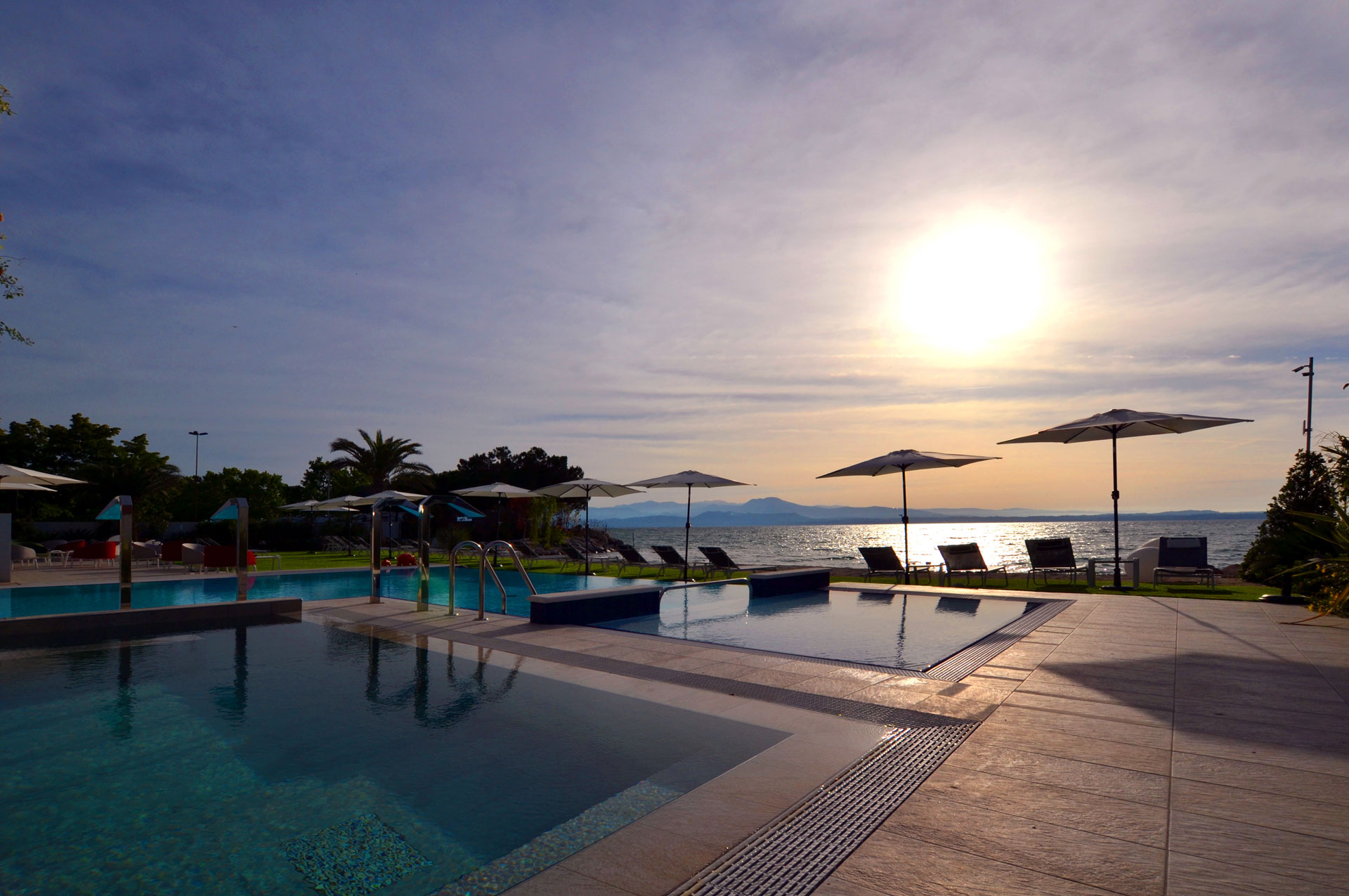 hotel con piscina termale