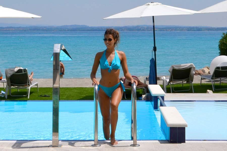 hotel con spiaggia privata Sirmione