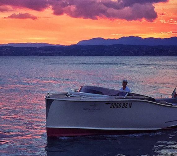 Fuga romantica in barca a Sirmione