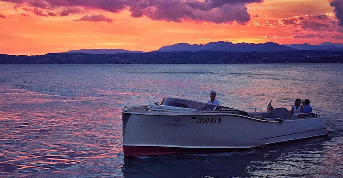 escursioni in barca lago di garda