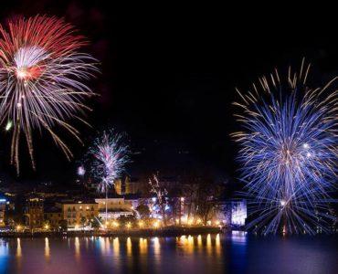Feuerwerk Gardasee 2019