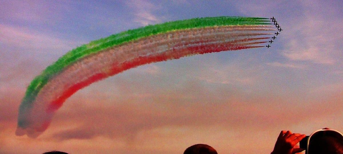 Frecce Tricolori lago di Garda