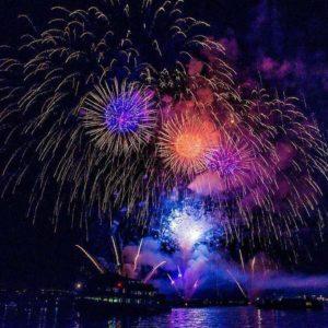 New Year's Eve Last Year Sirmione lake garda