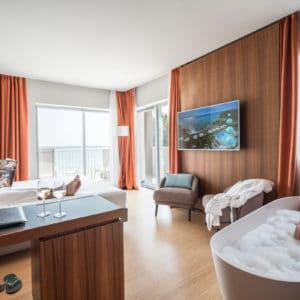 Расположение отелей Lake Garda