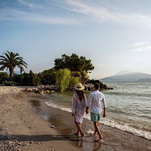 hotel con spiaggia privata lago di garda