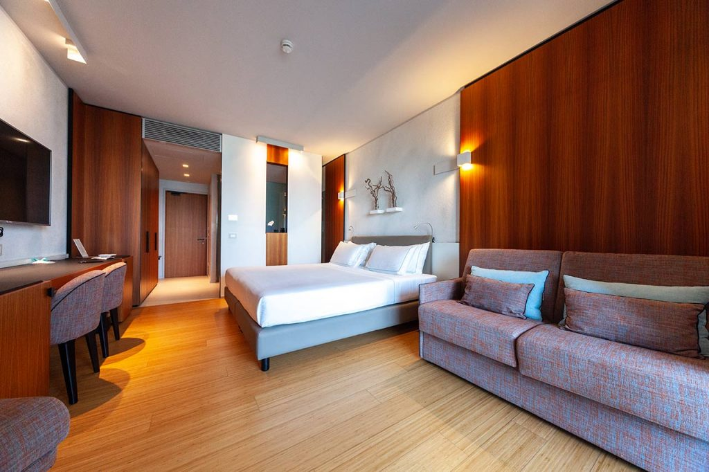 suite hotel Ocelle Sirmione