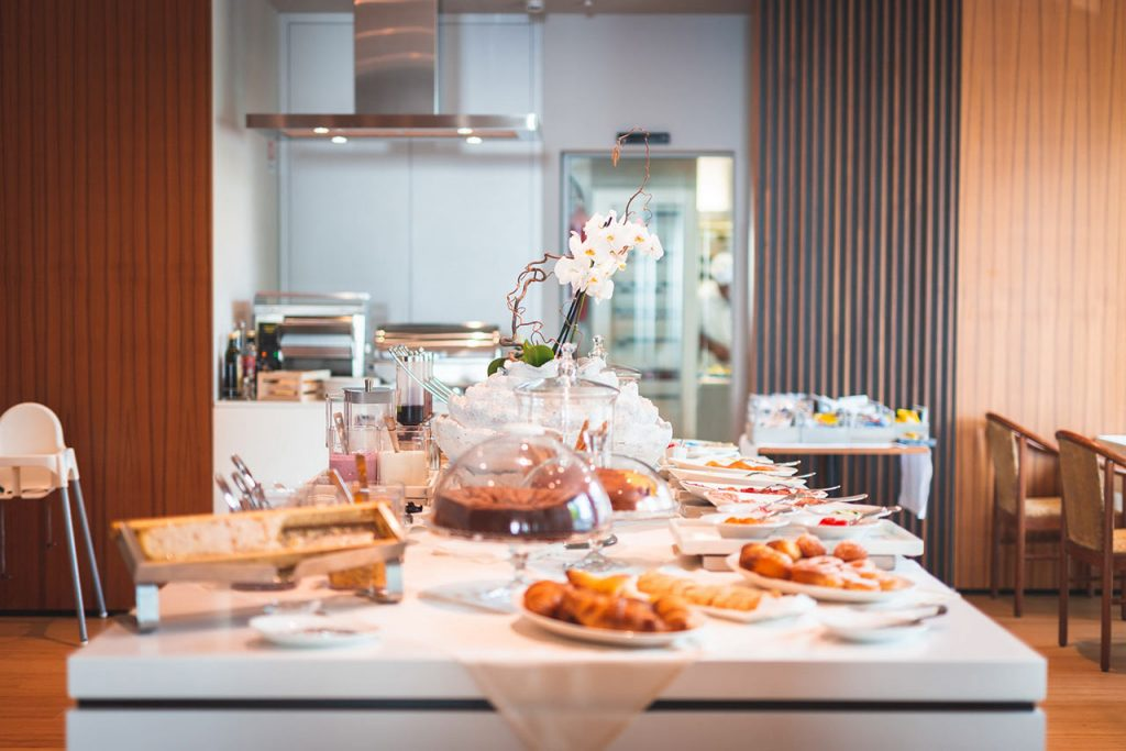 colazione Hotel Ocelle Sirmione lago di Garda