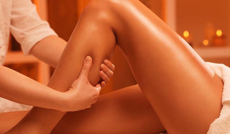 Bendaggio termale gambe Massaggio dinamico gambe e addome Bendaggio termale rimineralizzante viso