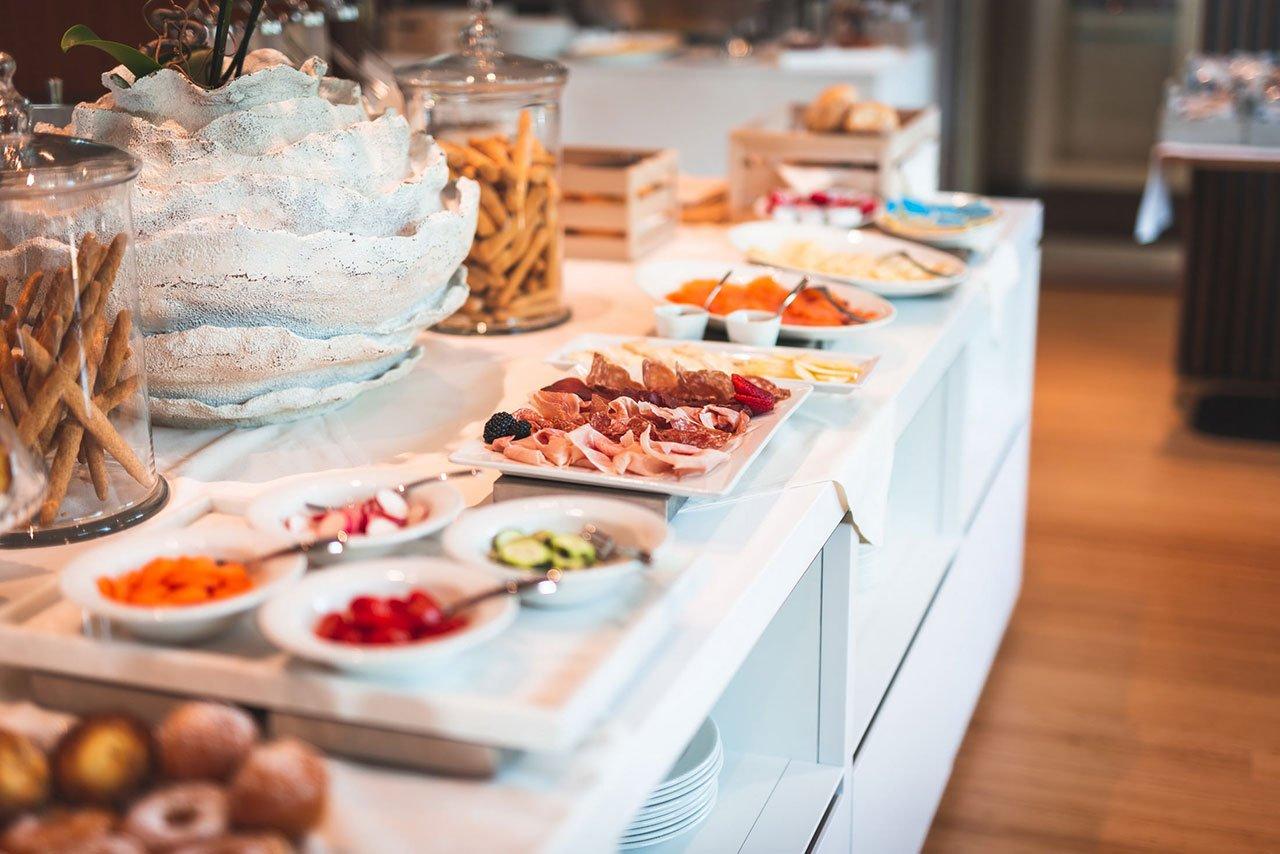 colazione hotel Ocelle sirmione