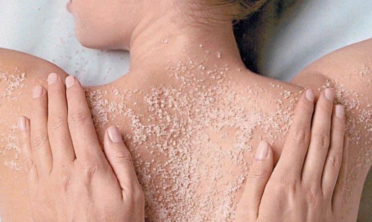 massaggio schiena sale